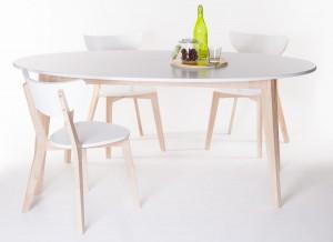 ovalt köksbord matbord