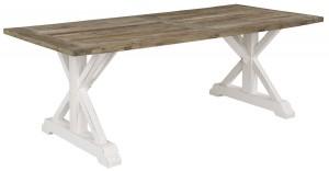 rustikt matbord i alm