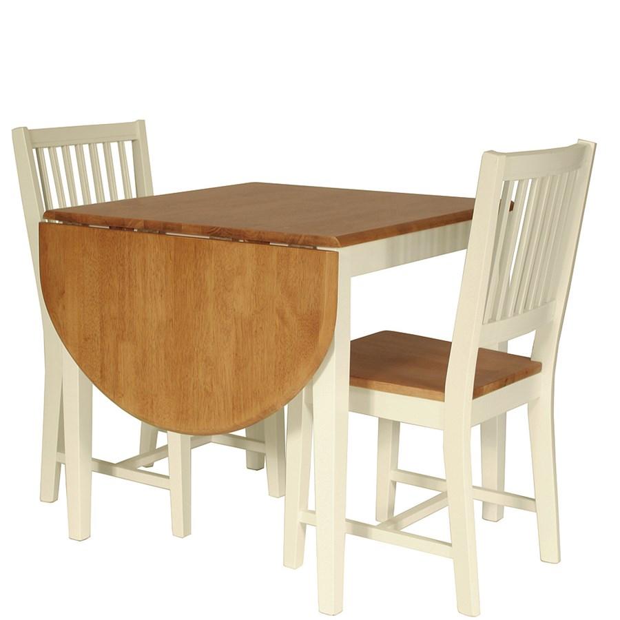 litet k?k runt bord  Butik Lanthandeln Litet runt bord med spj?lor