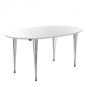 ovalt matbord