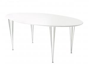 ovalt matbord superelips