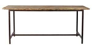 vintage köksbord matbord bordsskiva av trä