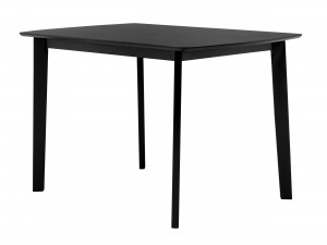 Svart matbord