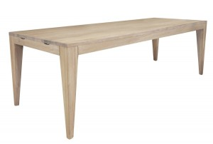 designer matbord i ek